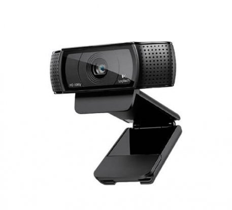USB Webcam with Focus and Microphone