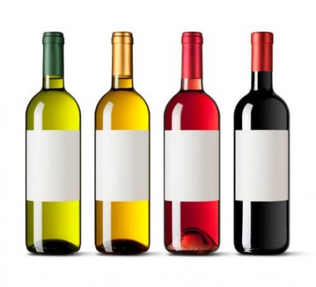 Water Soluble Paper for Labels for Bottles for Alcoholic Beverages